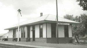 Missouri Pacific Railroad Depot at Waterville, Kansas.