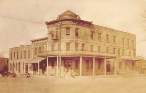 Weaver Hotel, Waterville, Kansas, 1917