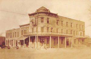 Weaver Hotel, Waterville, Kansas, 1917