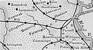 Atchison County Map, 1899