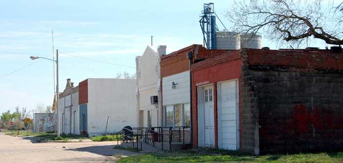 Main Street - Pawnee Rock, Kansas