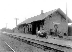 Union Pacific Depot in Bavaria, Kansas
