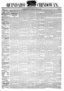 Chin-do-wan Newspaper, 1857