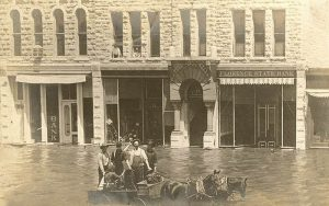 Flooding in Florence, Kansas.