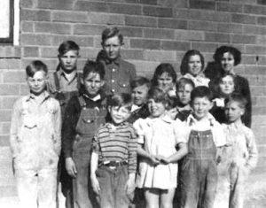 Golden School Students, 1938.