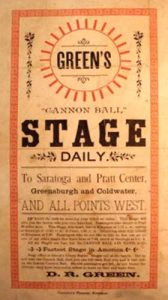 Green's Stage