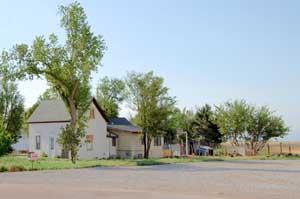 Hickok, Kansas buildings by Kathy Weiser-Alexander.