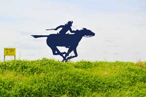 Pony Express Route near Horton, Kansas by Kathy Weiser-Alexander.
