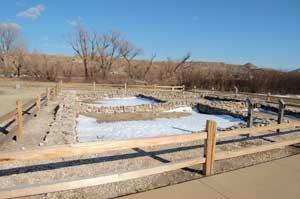 El Quartelejo Pueblo at Scott Lake State Park, Kansas by Kathy Weiser-Alexander.