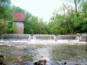 Marmaton River at Ft. Scott, Kansas courtesy City of Ft. Scott