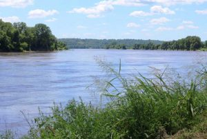 Missouri River near Kansas City, Kansas by Laura Ziegler/KCUR