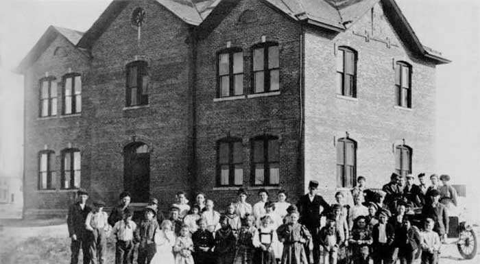 Old Ulysses, Kansas School