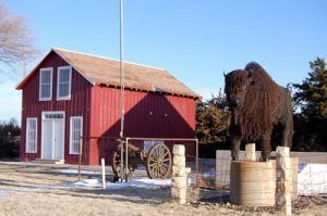 Pond Creek Station in Wallace, Kansas by Kathy Weiser-Alexander.