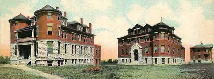 Western University in Quindaro, Kansas.