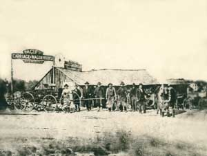Carriage-Wagon Shop in Quindaro, Kansas.