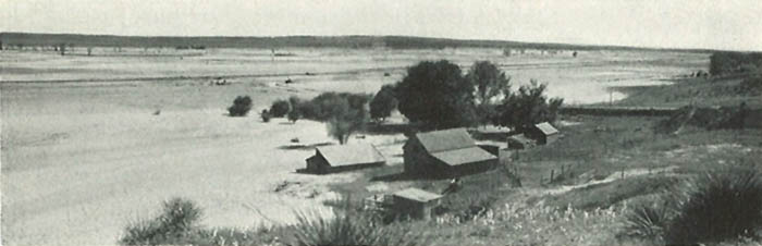 Republican River flooding near Culbertson, Nebraska,  June 1935