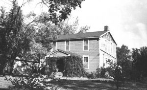 The front portion of Six Mile Tavern in 1956.