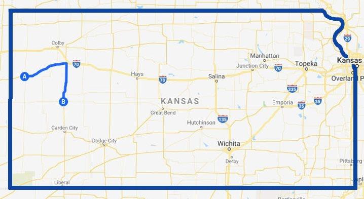 Western Vistas Historic Byway Map