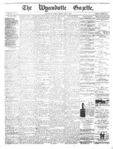 Wyandotte Gazette Newspaper