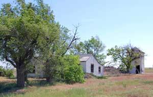 An old home near Zionville has long been abandoned, Kathy Weiser-Alexander.