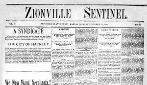 Zionville Sentinial