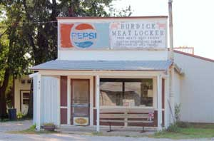 Burdick, Kansas Meat Locker