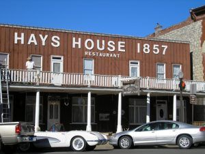 The Hays House in Council Grove is the oldest operating restaurant west of the Mississippi River, Kathy Weiser-Alexander.