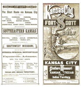 Kansas City, Fort Scott and Gulf Railroad