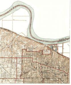 Quindaro, Kansas Map