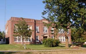 Old Wilsey, Kansas Highschool by Kathy Weiser-Alexander.