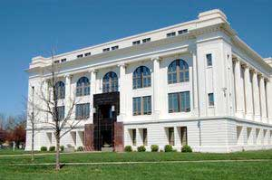 Barton County Courthouse in Great Bend, Kansas by Kathy Weiser-Alexander.