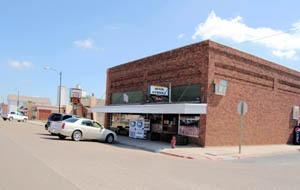 Bucklin, Kansas Main Street Market by Kathy Weiser-Alexander.