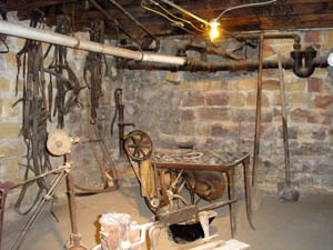 Ellinwood, Kansas underground room.