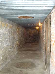 Underground Tunnel in Ellinwood, Kansas by Kathy Weiser-Alexander.