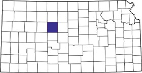 Ellis County, Kansas Location