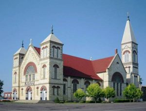 St. Mary's Catholic Church in Ellis, Kansas.