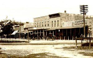 Ellis, Kansas Business District.