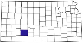 Ford County, Kansas Location