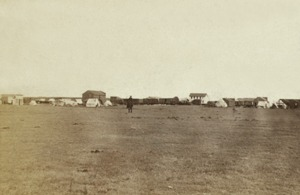 Hays City, Kansas by Alexander Gardner, 1867.