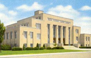 Ellis County Courthouse in Hays, Kansas.