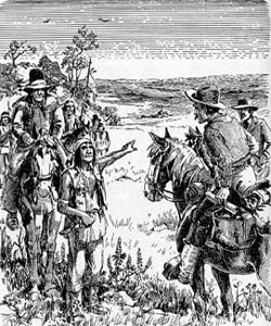 Settlers in Indian Territory