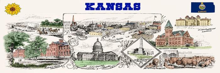 Historic Kansas by D Appleton & Co, 1891