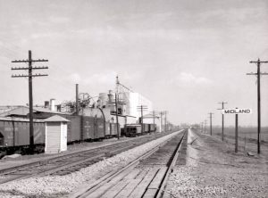 Union Pacific Railroad at Midland, Kansas.