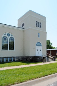 Stull, Kansas Methodist Church by Kathy Weiser-Alexander.