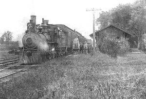 Vinland, Kansas Depot