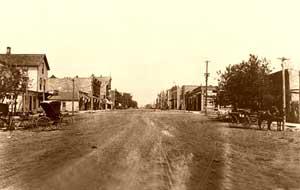 Eureka, Kansas 1887.