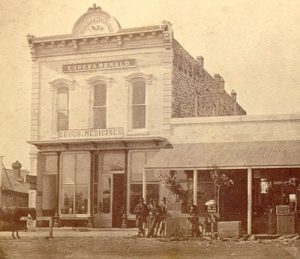 Eureka, Kansas buildings, 1877