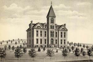Southern Kansas Academy in Eureka, Kansas, 1887.