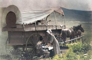 Greenwood County, Kansas Covered Wagon