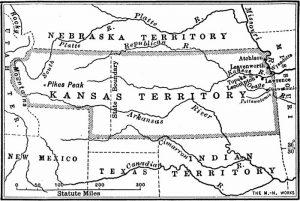 Kansas Territory, 1854